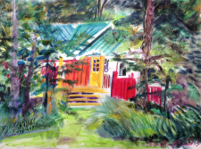 """""""Little Cabin in the Woods"""" NFS"""