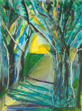 """Fresh Green Shadows of Spring"""