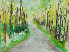 """""""North Woods in Spring"""""""