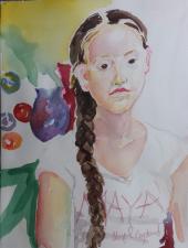 """Portrait of a Girl Named Maya"""