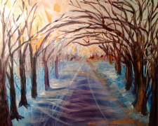 """My Long Winter Road"""