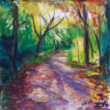 """Along a Woodsy Path"""